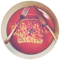 Ultimate Beans on Toast ft. Fashion Collection Stone Cutlery