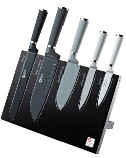 Seasons Mono 5pc Block & Knives