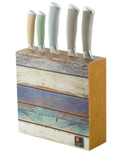 Coast 5pc Block & Knives
