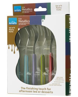 Pastry Forks 6 Piece Set