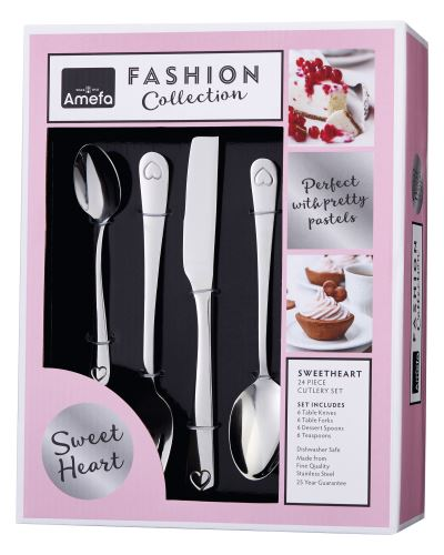 Sweetheart Fashion Collection Packaging